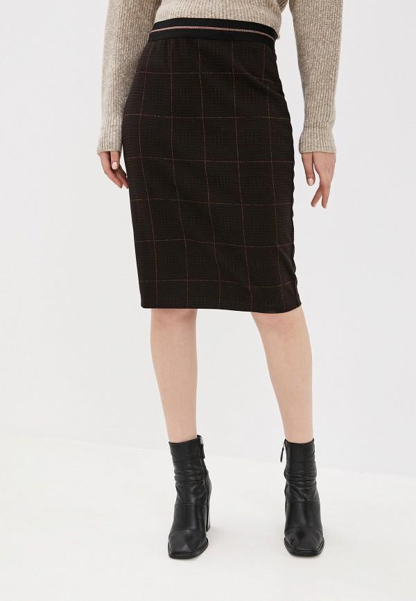 женская юбка мини gerry weber, коричневая