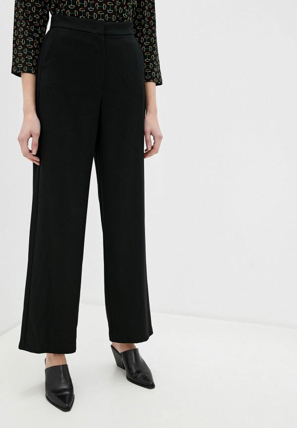женские прямые брюки gerry weber, черные