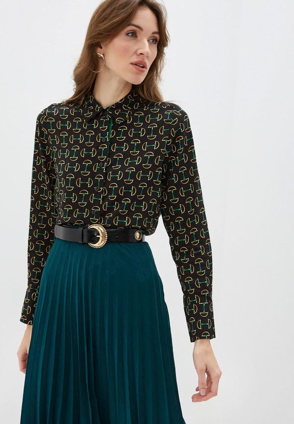 женская блузка с длинным рукавом gerry weber, черная