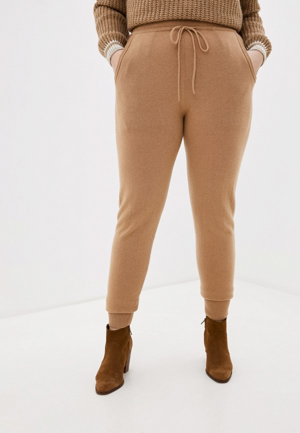 женские брюки джоггеры gerry weber, бежевые
