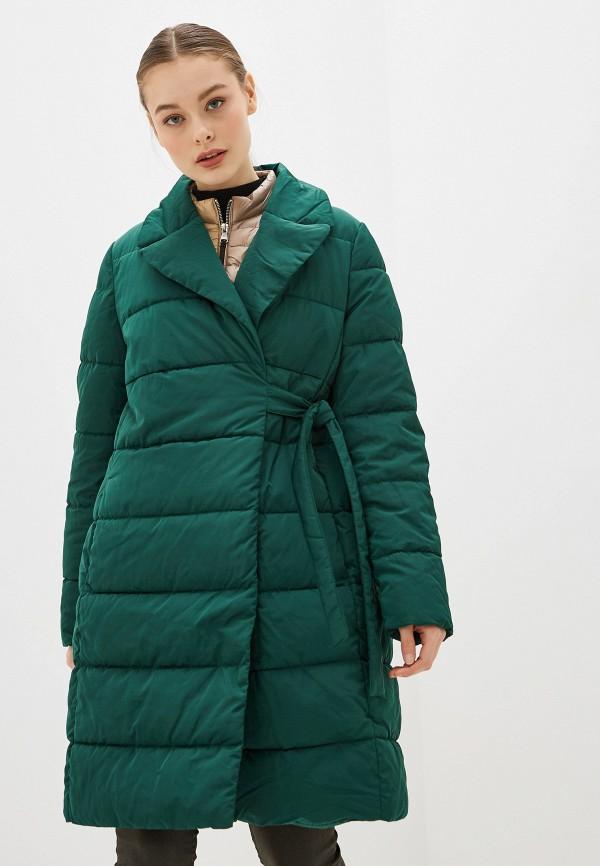 женская утепленные куртка gerry weber, зеленая