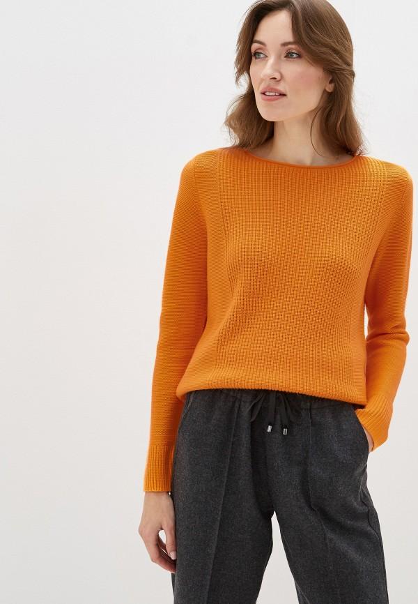 женский джемпер gerry weber, оранжевый