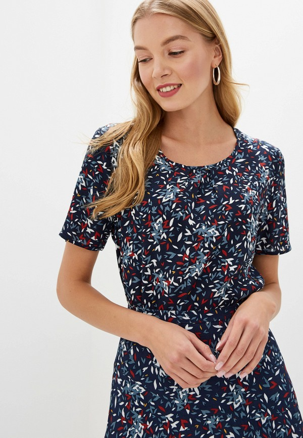женская блузка gerry weber, синяя