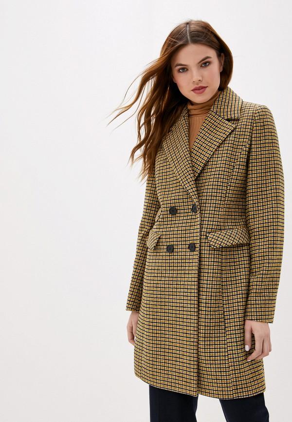 женское пальто gerry weber, желтое