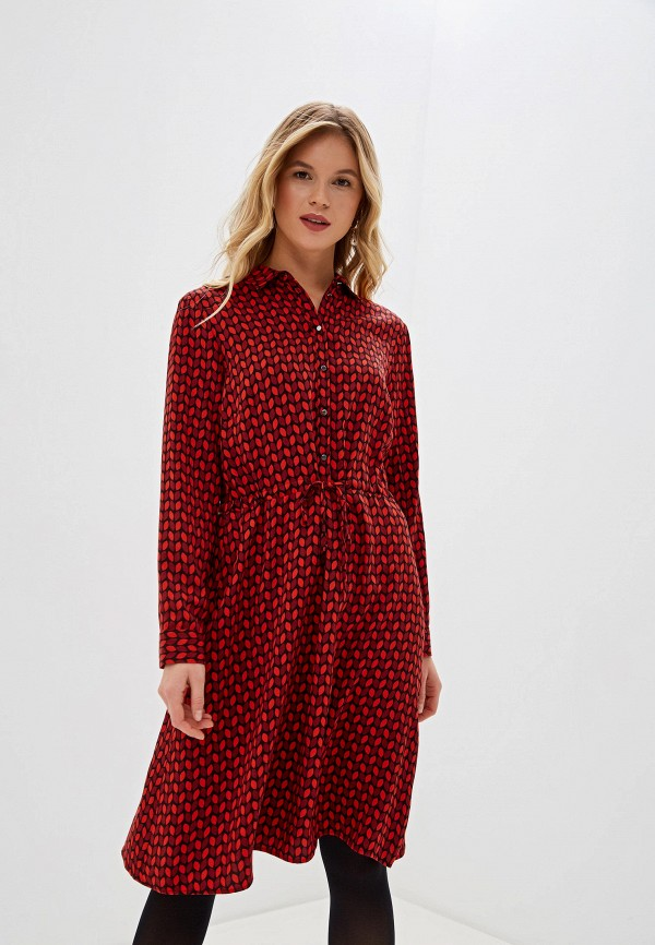 женское повседневные платье gerry weber, красное