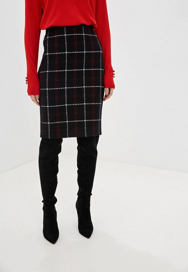 женская прямые юбка gerry weber, черная