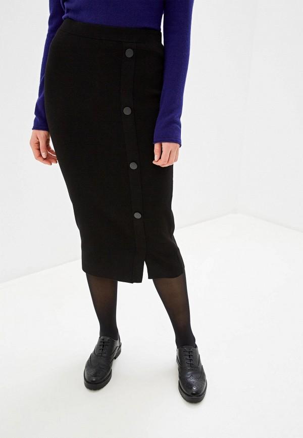женская зауженные юбка gerry weber, черная