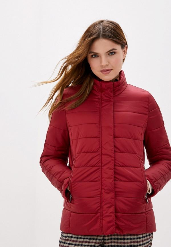 женская куртка gerry weber, бордовая