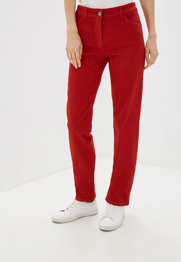 женские повседневные брюки gerry weber, красные