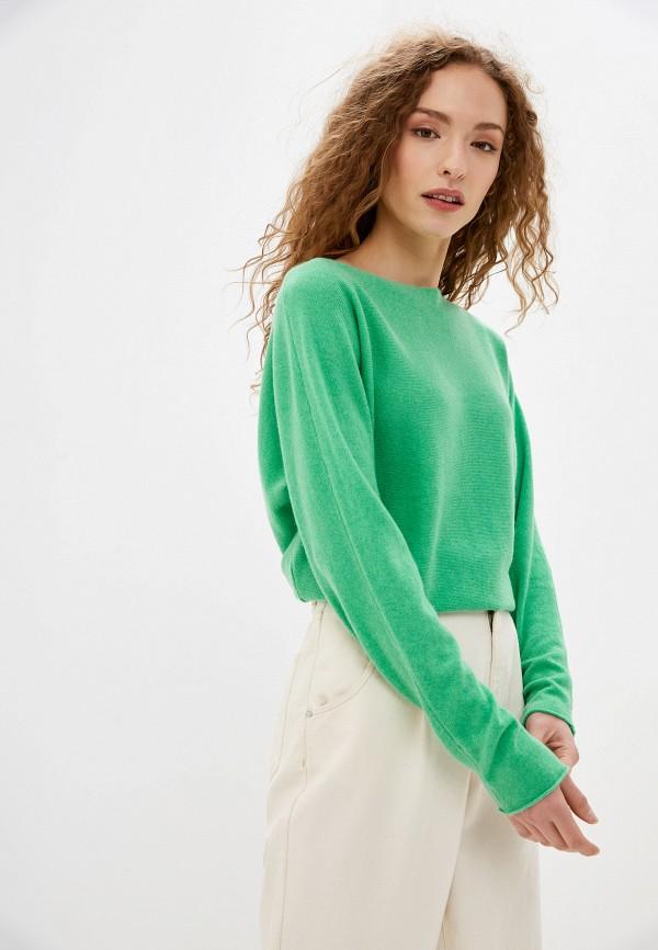 женский джемпер gerry weber, зеленый