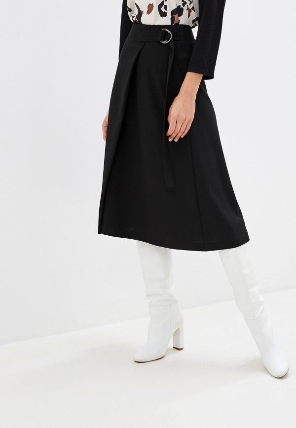 женская юбка-трапеции gerry weber, черная