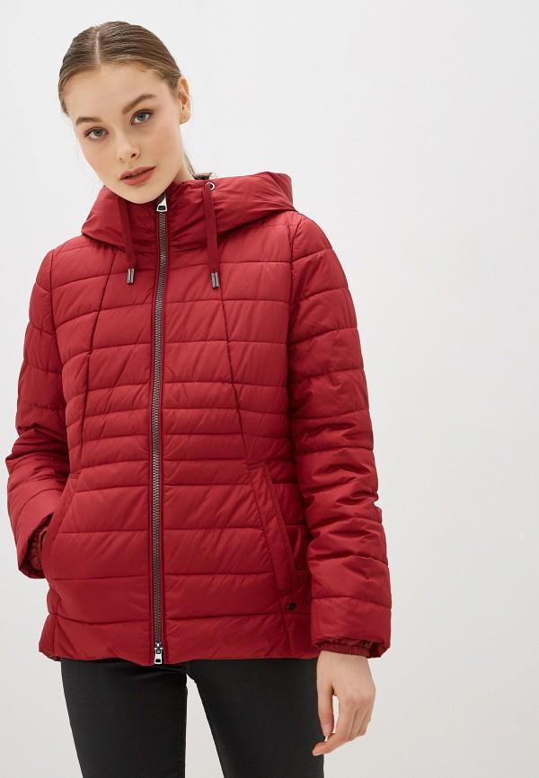 женская утепленные куртка gerry weber, красная