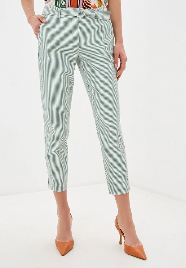 женские повседневные брюки gerry weber, зеленые