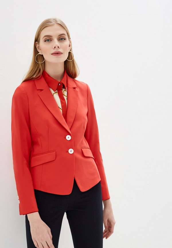 женский пиджак gerry weber, красный