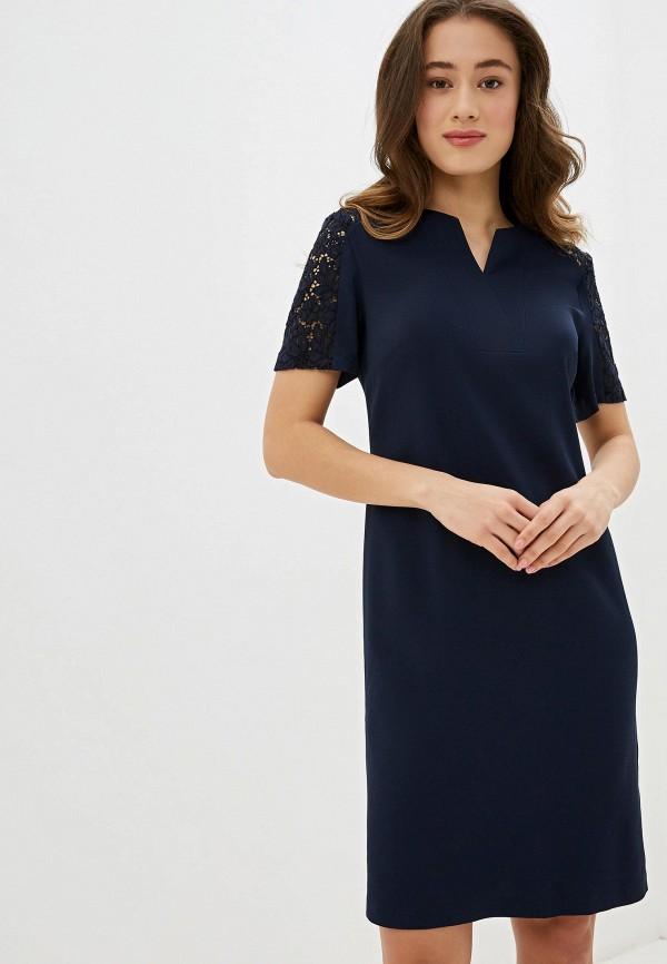 женское платье мини gerry weber, синее