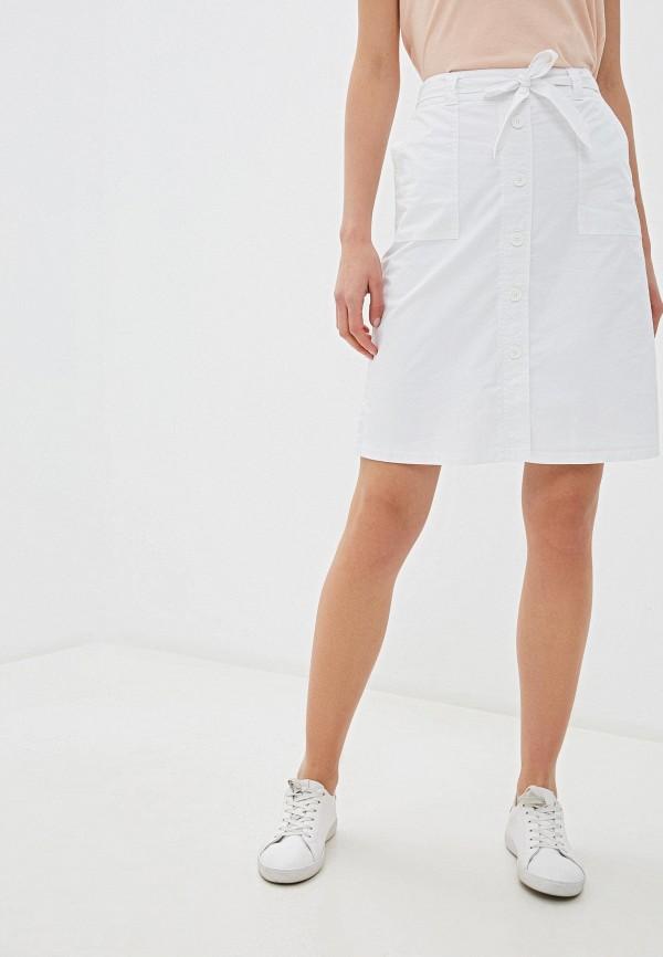 женская юбка-трапеции gerry weber, белая