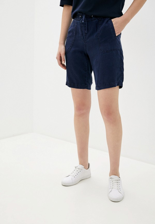 женские повседневные шорты gerry weber, синие