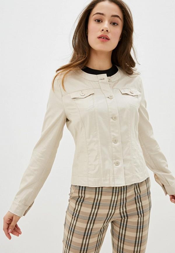 женская куртка gerry weber, бежевая