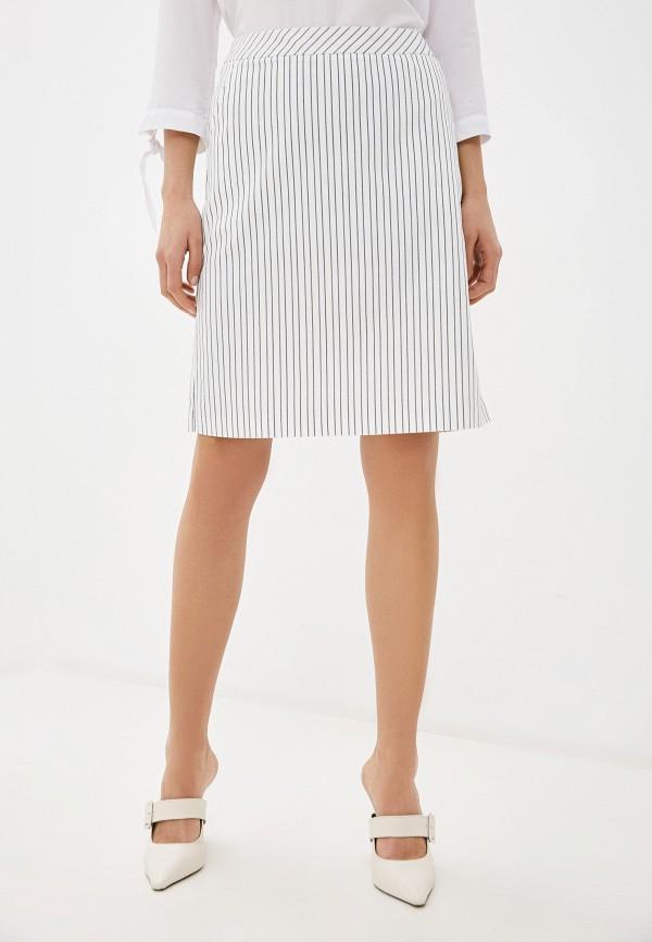 женская прямые юбка gerry weber, белая