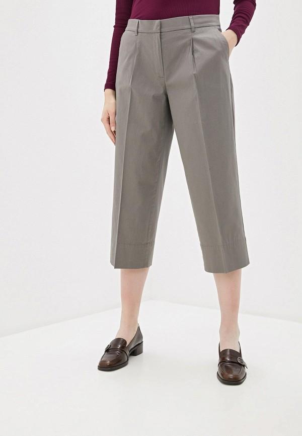 женские брюки клеш gerry weber, серые