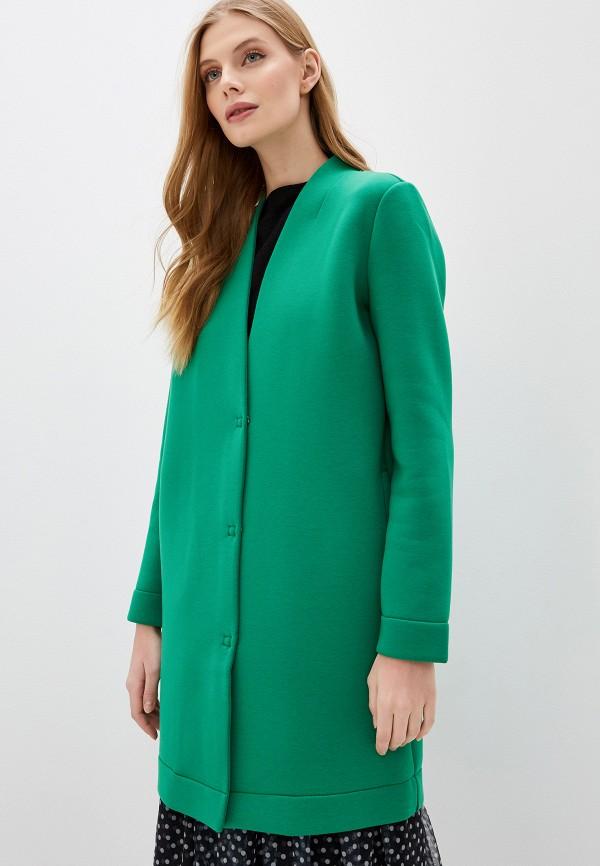 женское пальто gerry weber, зеленое