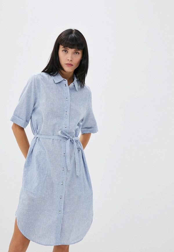 женское платье gerry weber, голубое