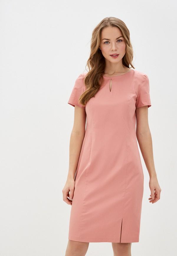 женское платье-футляр gerry weber, розовое