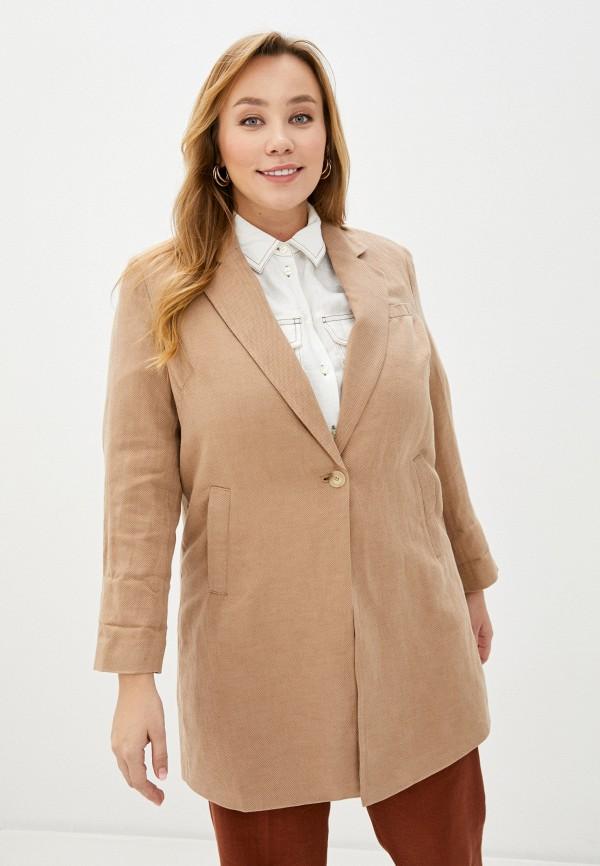 женское пальто gerry weber, бежевое