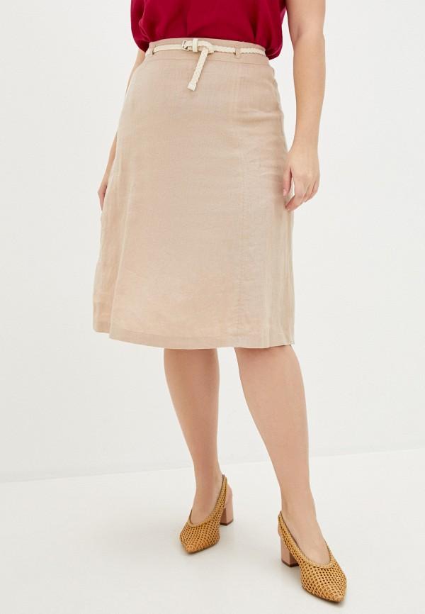 женская юбка gerry weber, бежевая