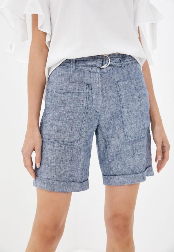 женские повседневные шорты gerry weber, голубые