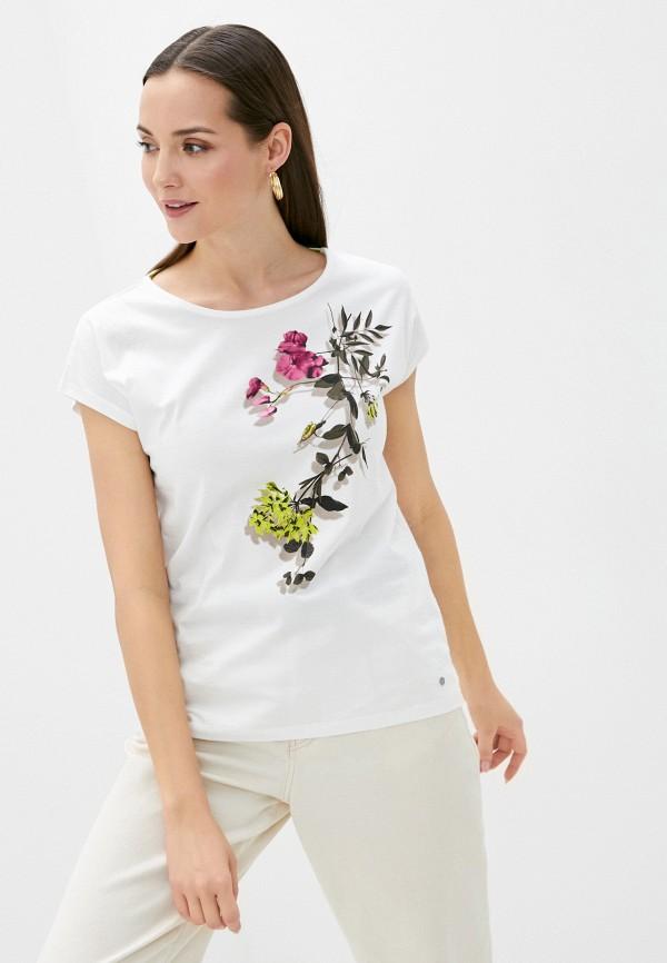 женская футболка gerry weber, белая