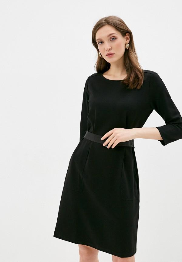 женское повседневные платье gerry weber, черное