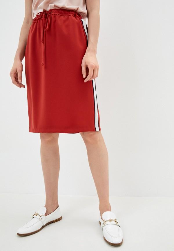 женская прямые юбка gerry weber, красная