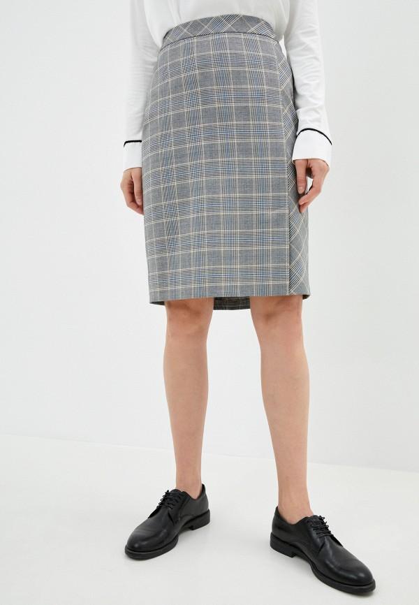 женская прямые юбка gerry weber, серая