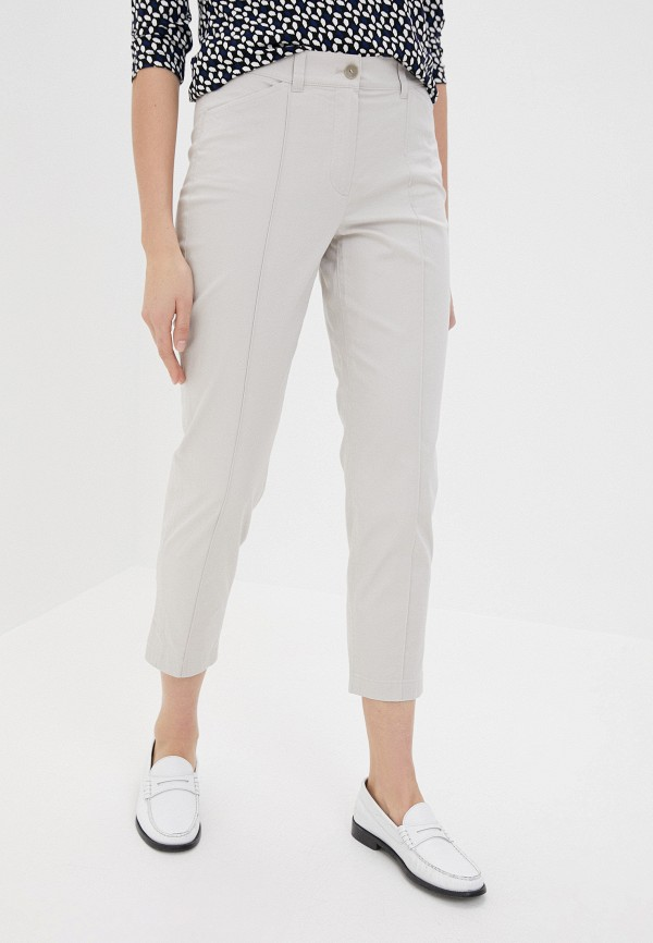 женские повседневные брюки gerry weber, белые