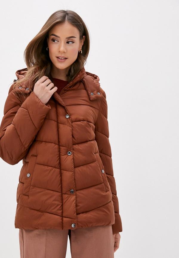 женская куртка gerry weber, коричневая