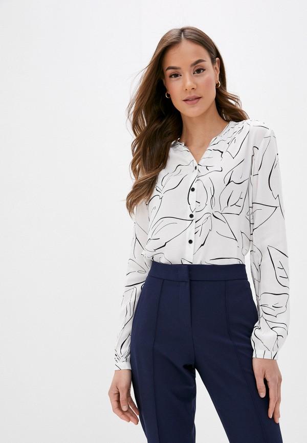 женская блузка с длинным рукавом gerry weber, белая