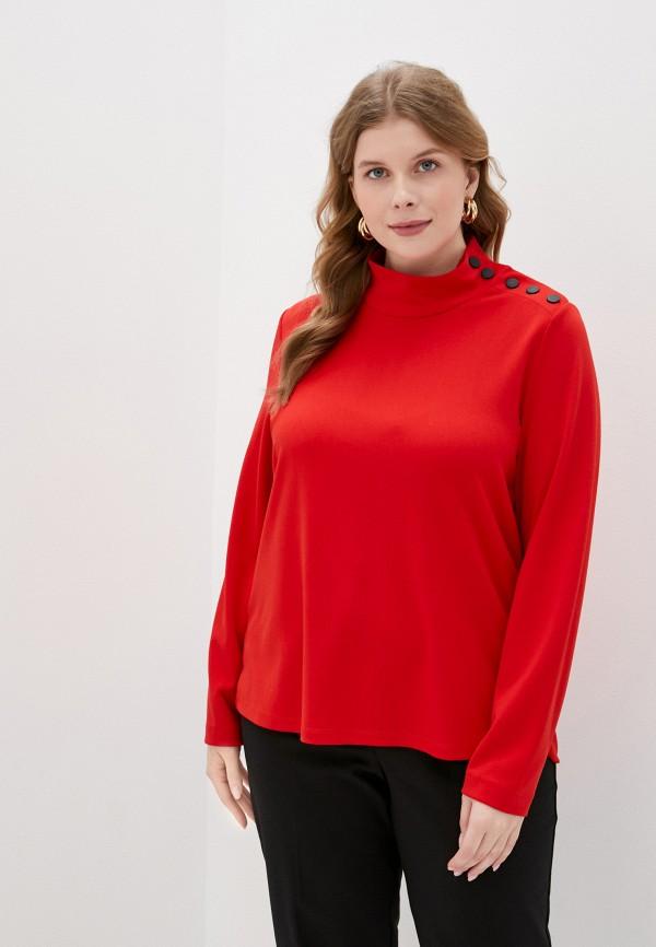женская водолазка gerry weber, красная