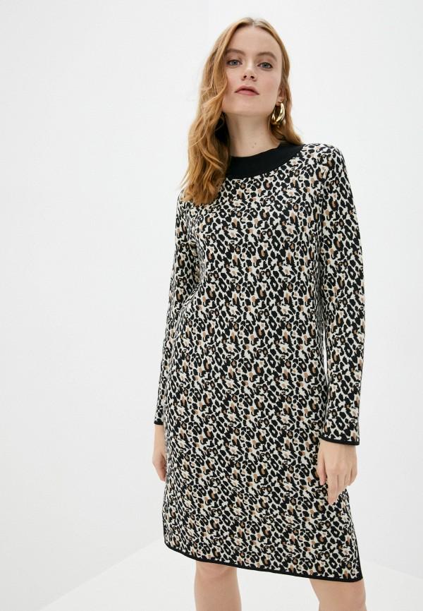 женское повседневные платье gerry weber, бежевое