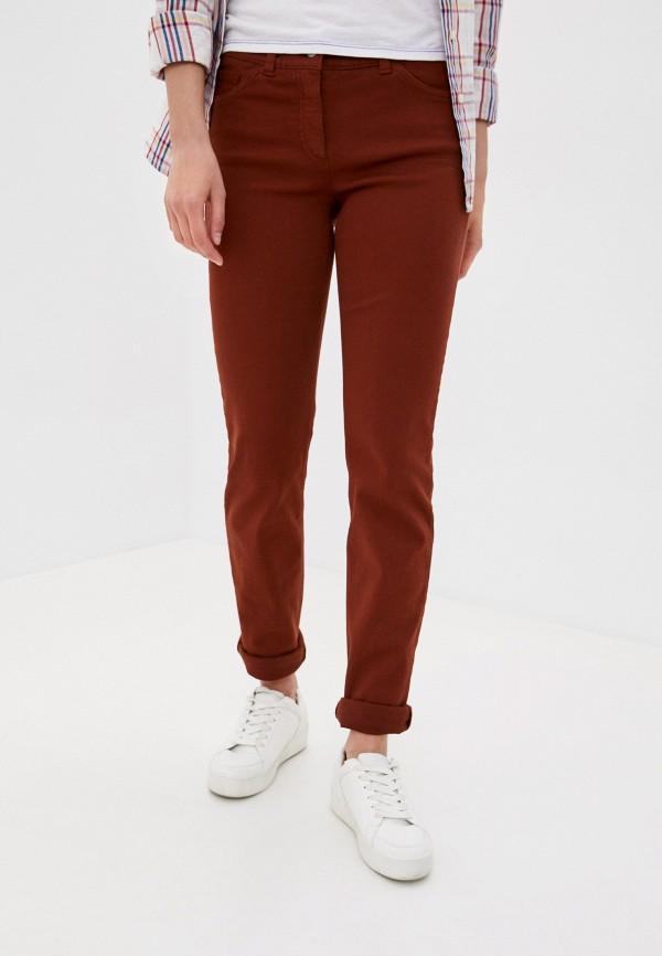 женские прямые брюки gerry weber, желтые