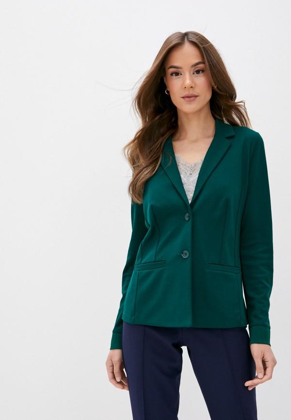 женский пиджак gerry weber, зеленый
