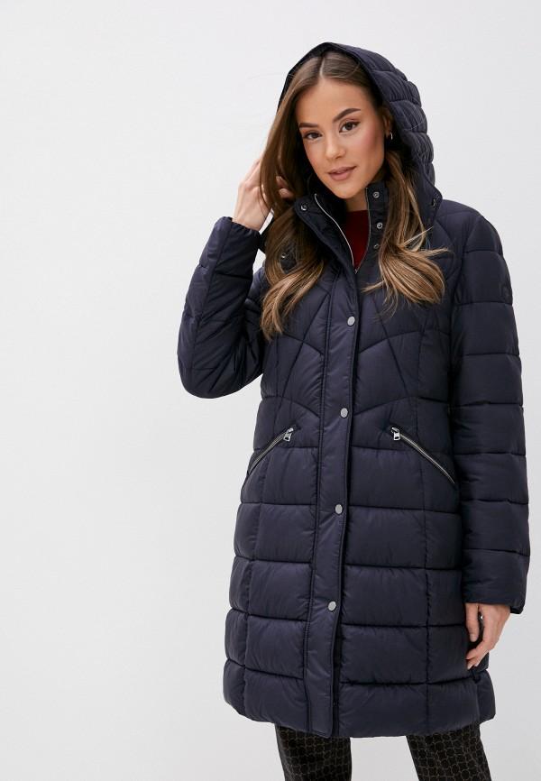 женская утепленные куртка gerry weber, синяя