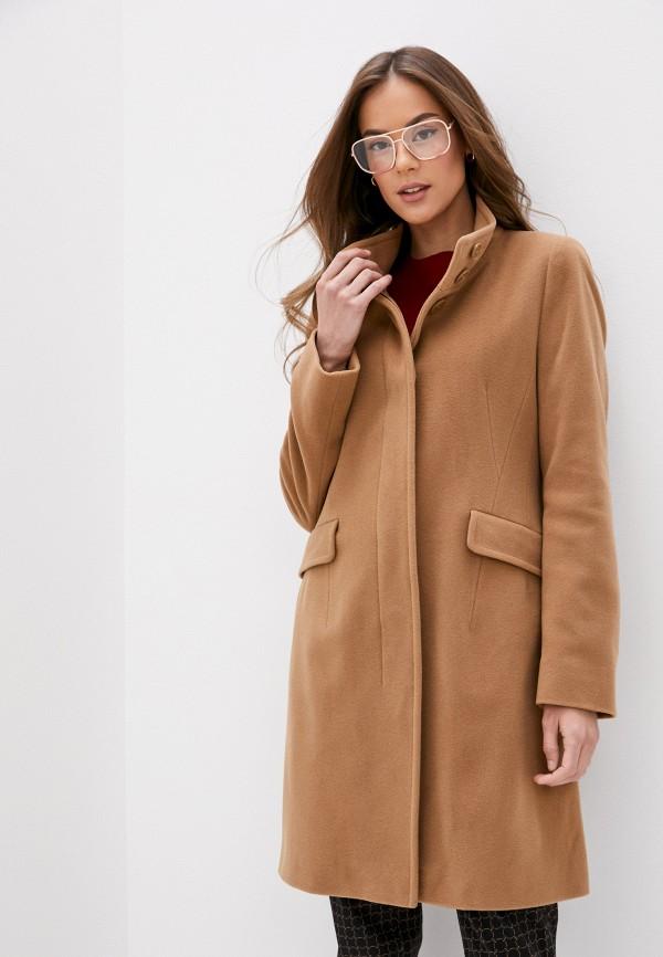 женское пальто gerry weber, коричневое