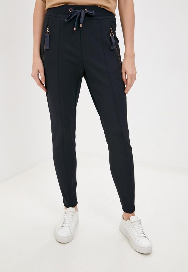 женские зауженные брюки gerry weber, синие