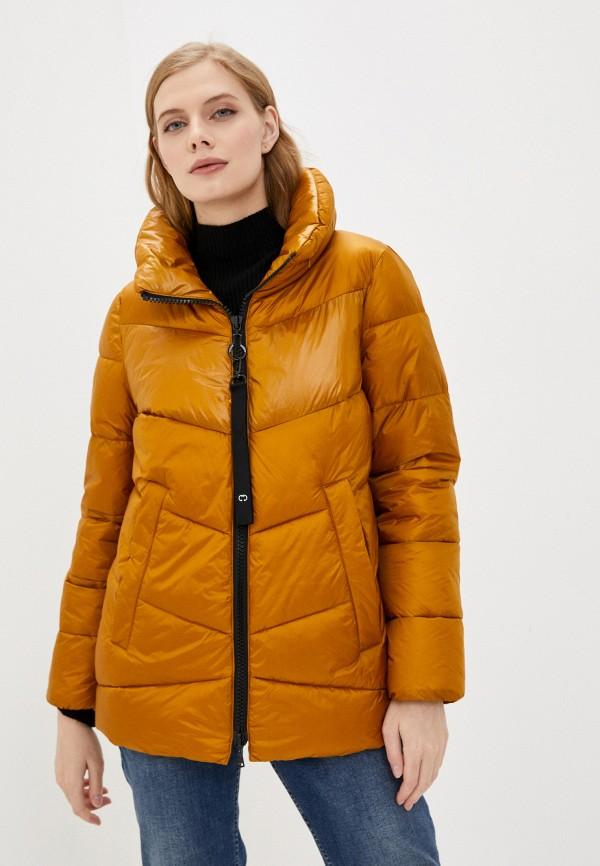 женская куртка gerry weber, желтая
