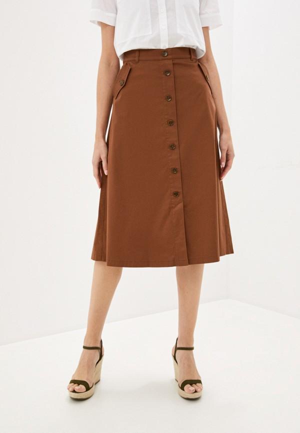 женская юбка gerry weber, коричневая