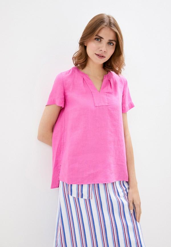 женская блузка gerry weber, розовая
