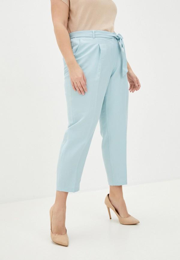 женские зауженные брюки gerry weber, голубые