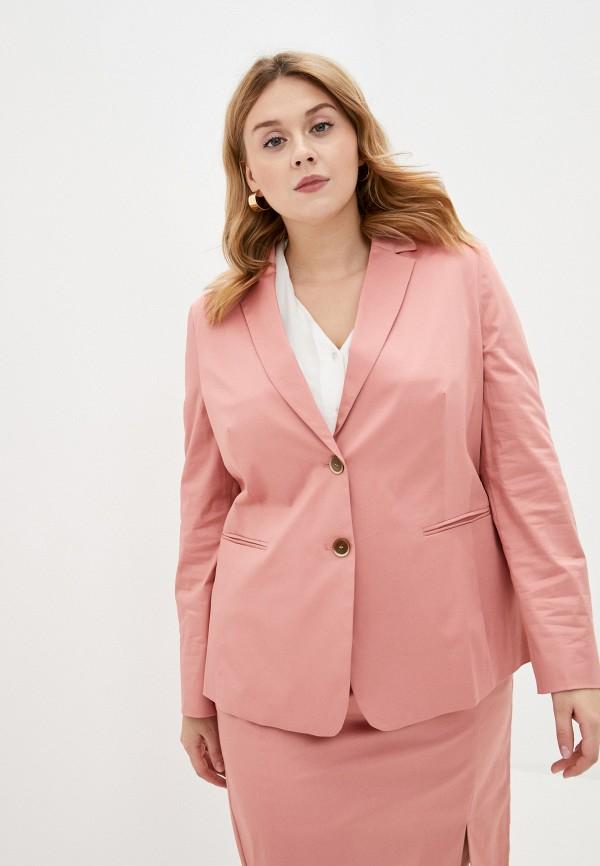 женский пиджак gerry weber, розовый