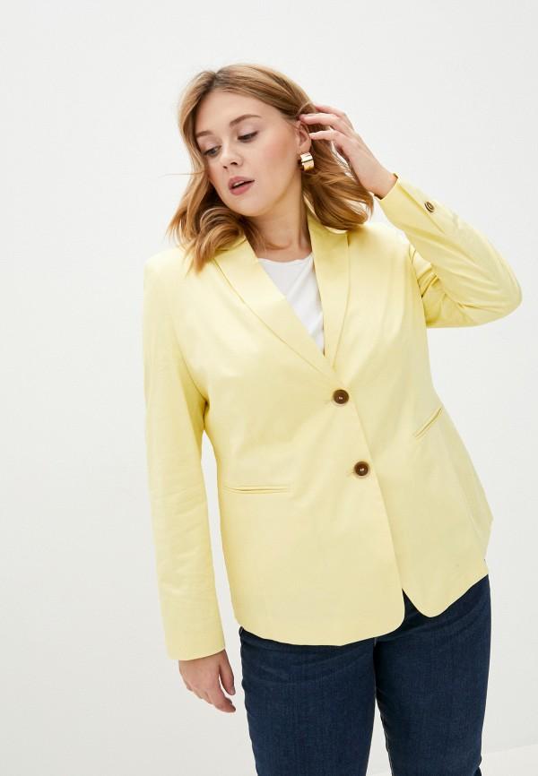 женский пиджак gerry weber, желтый